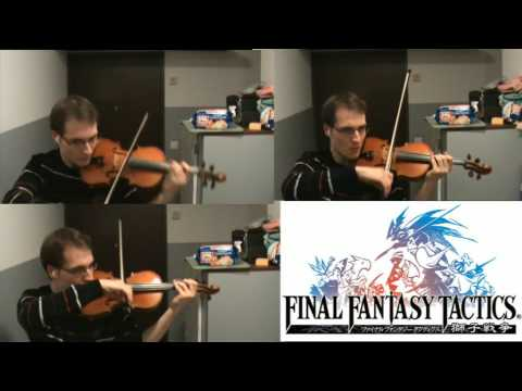Final Fantasy Tactics Trisection Violin By Kikoogay
