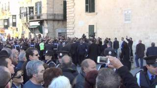 No Confidence Motion Defeated - MPs leaving Maltese Parliament - 26.01.2012