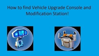 How to find Vehicle Upgrade Console And Modification Station In Subnautica! | 2018 Up To Date!