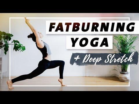 Fatburning Yoga | Intensives Ganzkörperprogramm | Starke Beine und flexible Oberschenkelrückseiten