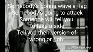 James Blunt-Someone's singing along lyrics