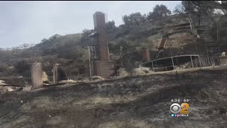 Those Allowed To Return Home Following Thomas Fire Are Left With Nothing
