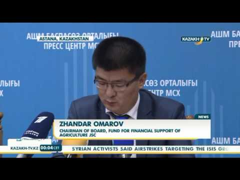 State to support country's dairy industry - Kazakh TV