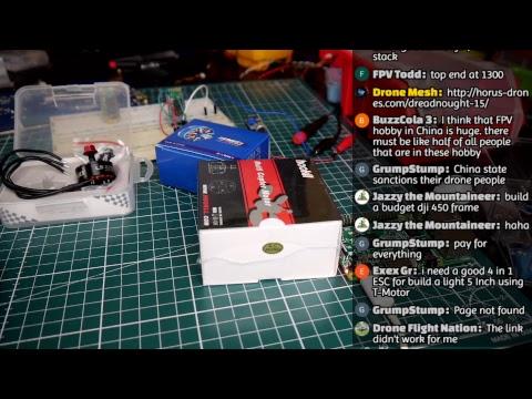 Building Bluetooth FPV Drone Locater // Live Stream