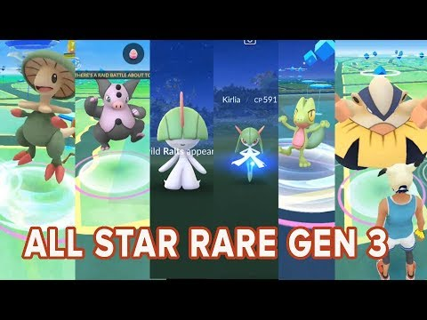 Download Youtube: The Best of Rare! New Gen 3 Catches in Pokemon Go