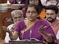 Budget 2019: Full Speech Of FM Nirmala Sitharaman In Lok Sabha