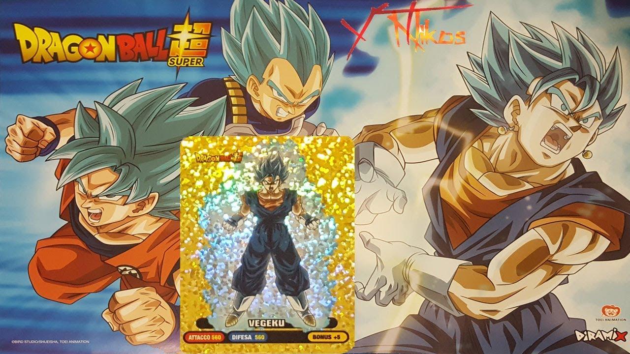 Unboxing New Lamincards Dragon Ball Super Gold Vegeku