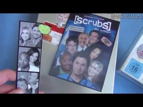 Scrubs - Die Anfänger [Unboxing] Complete Season / Komplette Serie + Bonus CE DVD Ausgepackt