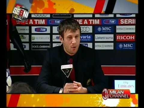 Cassano presentazione al Milan (integrale)