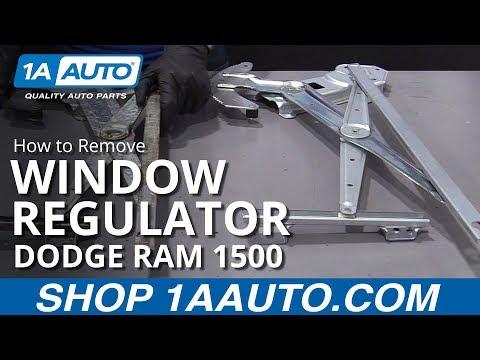 How to Replace Window Regulator 94-02 Dodge Ram 1500