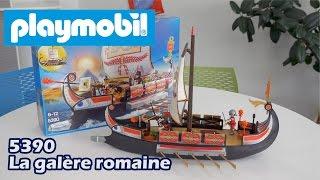 Playmobil 5390 : La galère romaine (Playmobil History) - Démo en français