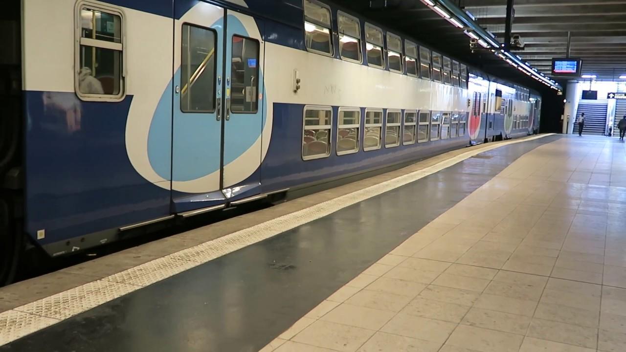Paris RER Line C Trains At Avenue Foch 8 August 2017 - YouTube