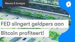 De geldmachine staat aan en bitcoin koers kan profiteren! | BTC Nieuws