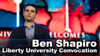 Ben Shapiro - Liberty University thumbnail