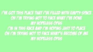 Imagine Dragons - Hopeless Opus Lyrics