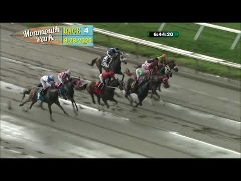video thumbnail for MONMOUTH PARK 08-28-20 RACE 4