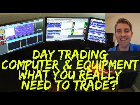 Day Trading Computer & Trading Screens - What You Really Need To Trade? 🔌💻