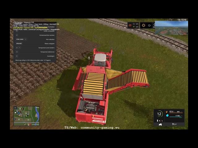 Kartoffel-Rodung | Folge #211 | Let's Play Landwirtschafts Simulator 2017