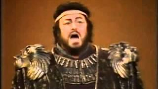 Luciano Pavarotti Verdi Aida Celeste Aida