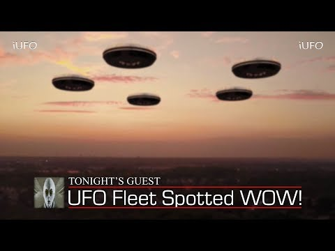 UFO Fleet Spotted WOW October 21st 2017