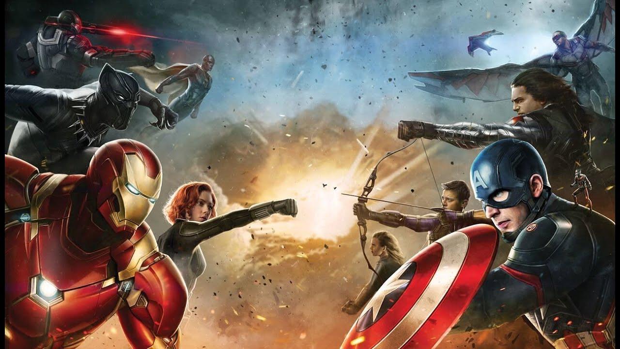 Captain America Civil War FIGHT Moments HD 1080 - Marvel ...
