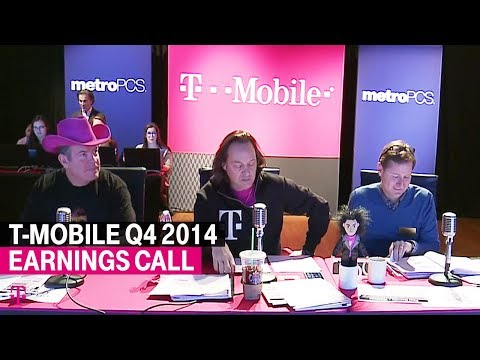 T-Mobile Q4 and 2014 Earnings Call: Behind-the-Scenes Livestream