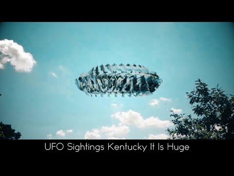 UFO Sightings Kentucky This Thing Is Huge 11-9-2016