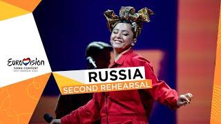 Manizha - Russian Woman - Second Rehearsal - Russia 🇷🇺 - Eurovision 2021