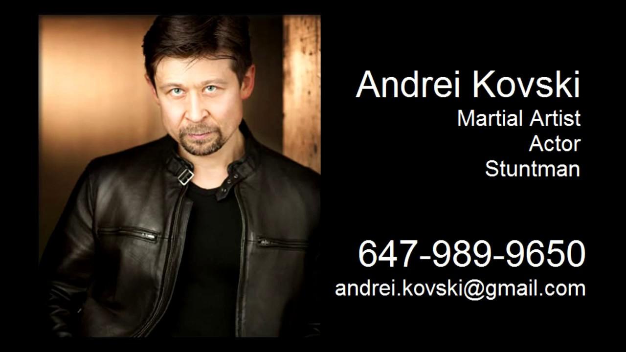 Andrei Kovski Demo Reel 2017