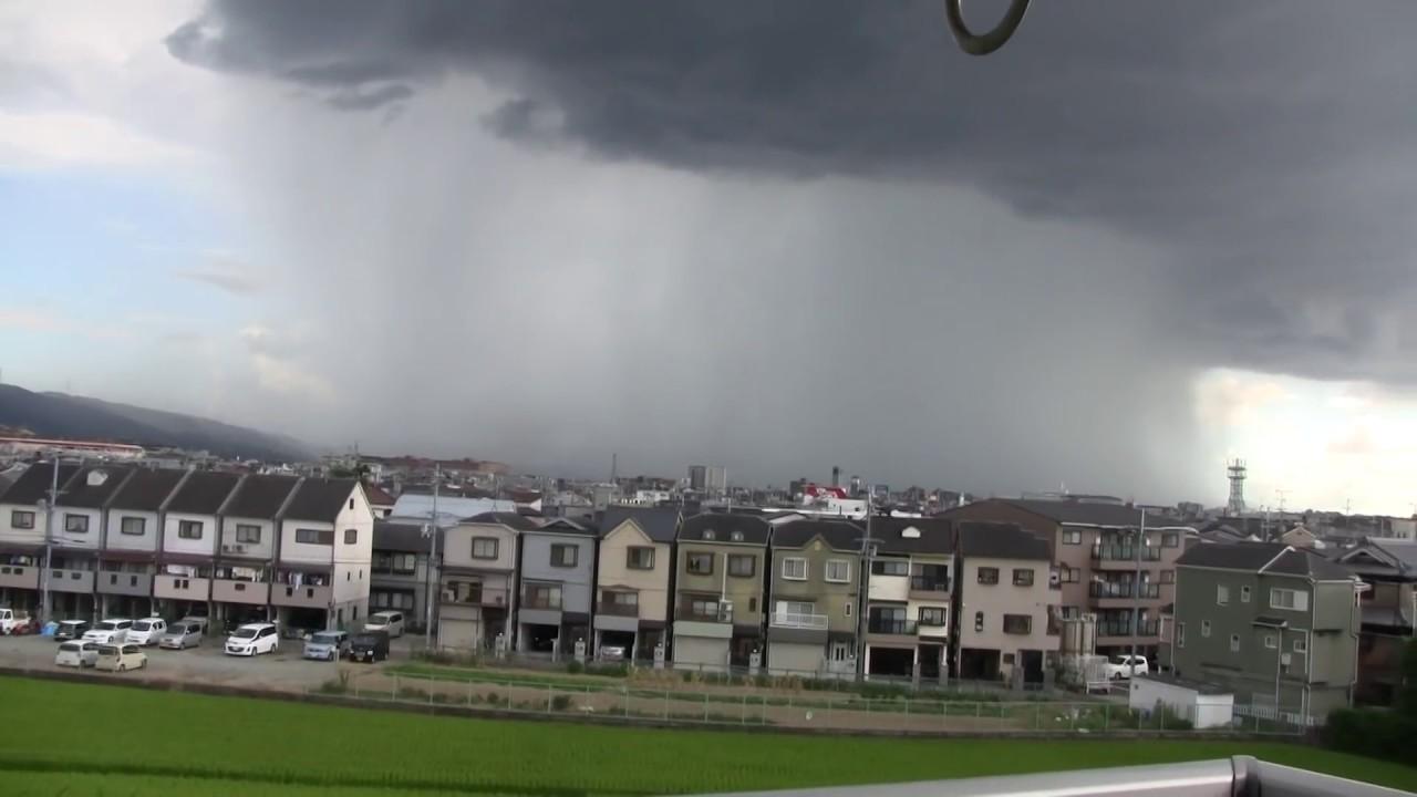 HY 大阪府枚方市を襲ったゲリラ豪雨(Guerrilla downpour in Osaka)