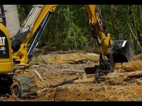 Cat® Mini Excavator Buckets Overview