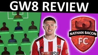FPL GW8 REVIEW | FPL 2019/20 Gameweek 8 Team Review