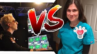 At the final table & She's never Played Poker (Gambling Vlog #36)