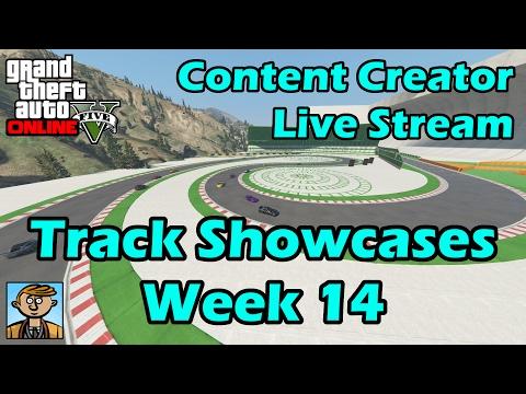 GTA Race Track Showcases (Week 14) [PS4] - GTA Content Creator Live Stream