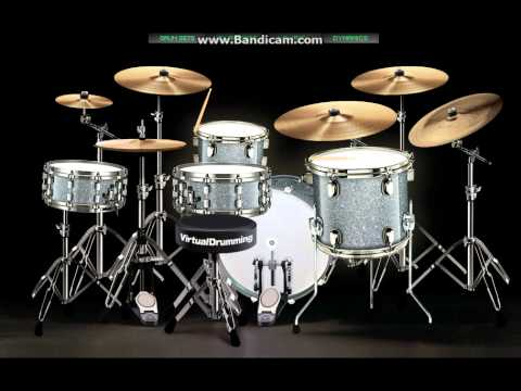 virtualdrumming.com - D'try kematian cintaku cover drum