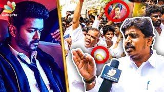 Varungala SARKAR Thalapathy than | VIjay Birthday Celebrations | Fans Reactions