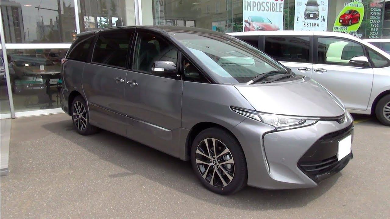 2016 New Toyota Estima Aeras Premium G Exterior