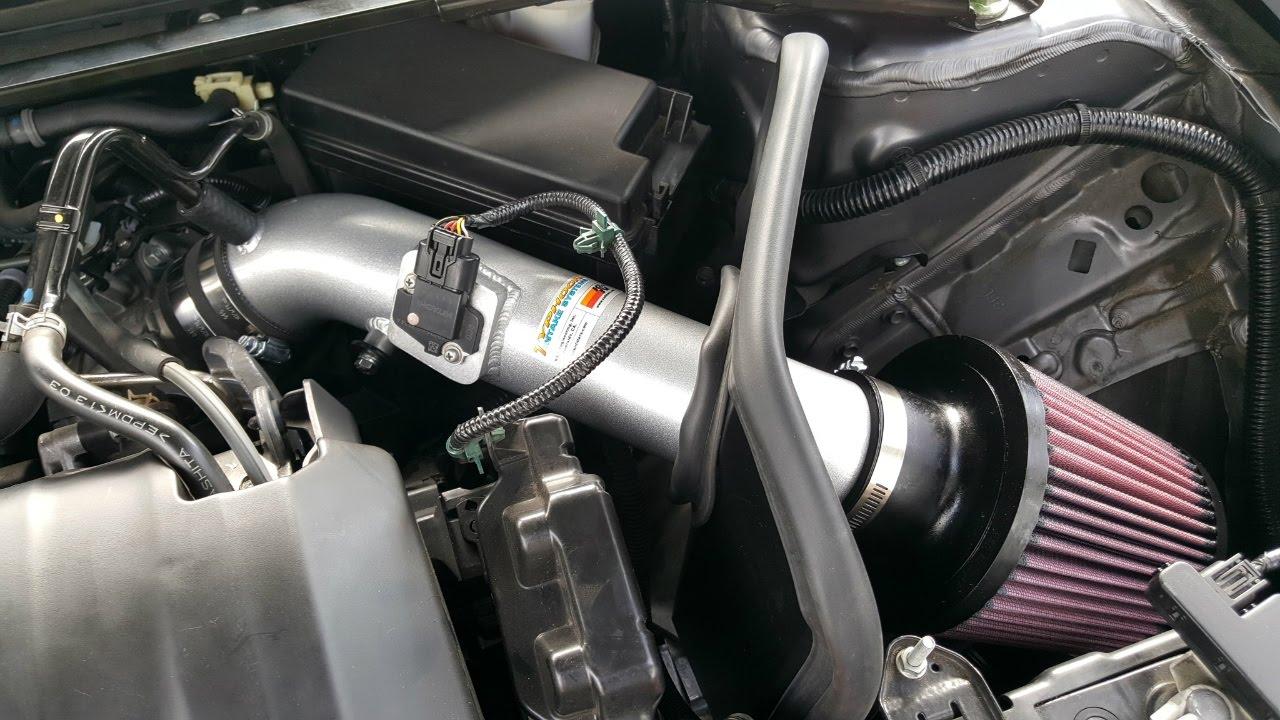 Honda Accord Sensing >> DIY Tutorial Honda Accord K&N Typhoon Intake Systems Installation with Sample sound clips - YouTube