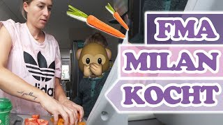 HILFE!! Milan kocht für uns und ich sortiere Schminke aus!! - Follow me around SaskiasBeautyBlog