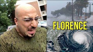 اعصار فلورنس قد يدمر الولايات المتحده الامريكيه للأبد 🌊🌪🇺🇸