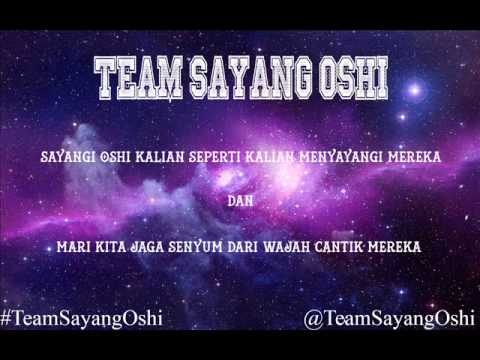 Team Sayang Oshi Gokigen Naname Na Mermaid JKT48 Male Version