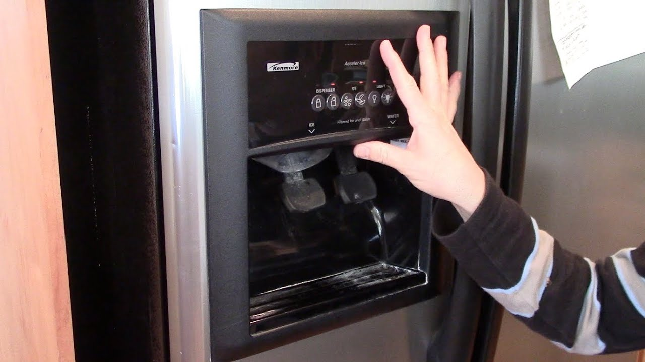 Frigidaire Ice Maker Valve Leak