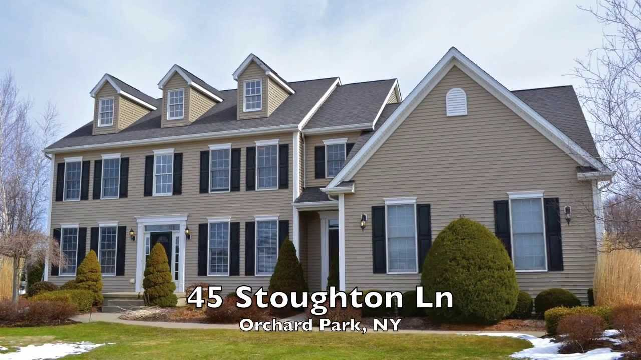 Home For Sale 45 Stoughton Ln, Orchard Park, NY - YouTube