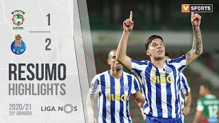 Highlights   Resumo: Marítimo 1-2 FC Porto (Liga 20/21 #20)