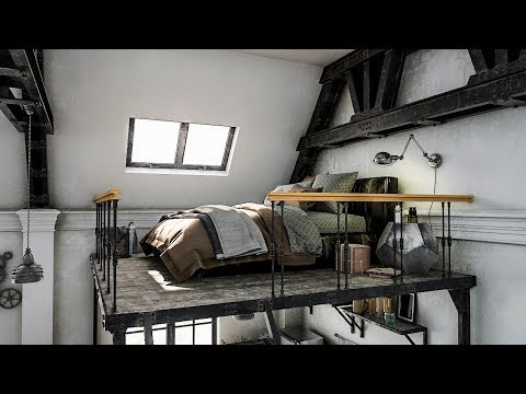 architecture visualization: Nice Room Design with vray 3.5 for 3ds max 2017