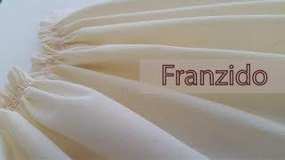 Três maneiras para franzir o tecido