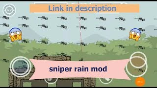 How to create sniper moded lobby in Mini militia (Doodle army 2)
