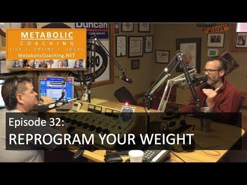 Episode 32 - Reprogram Your Weight - Metabolic Coaching Radio