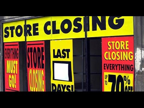 Collapse & Bankruptcy: Worst Retail Apocalypse in U.S. History