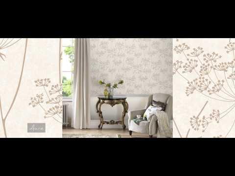 Graham & Brown Wallpaper | Orla Grey/Silver | 20-750